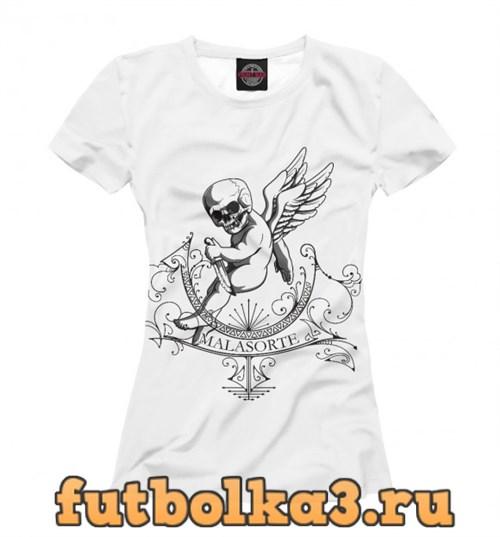 Футболка Angel Skull женская