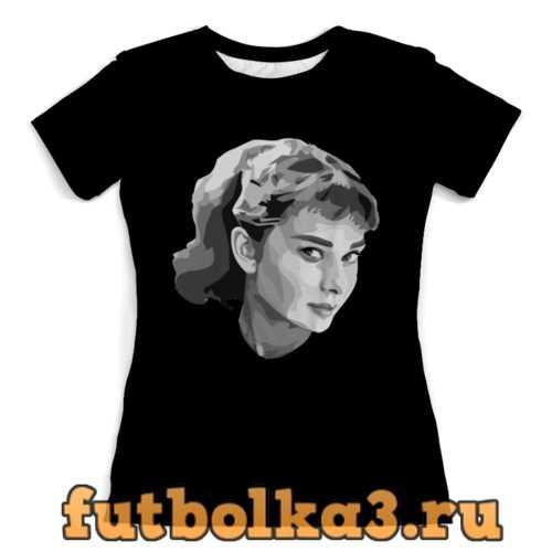 Футболка Audrey Hepburn (Одри Хепберн) женская