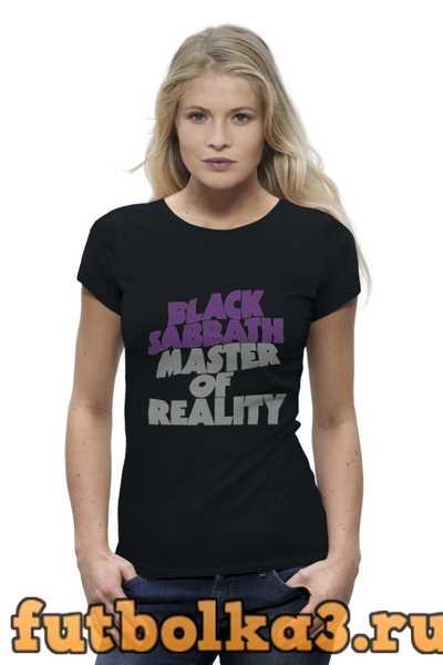 Футболка Black Sabbath женская