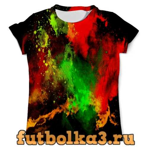 Футболка Брызги красок мужская