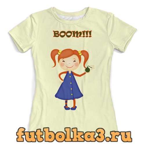 Футболка Буум!! женская