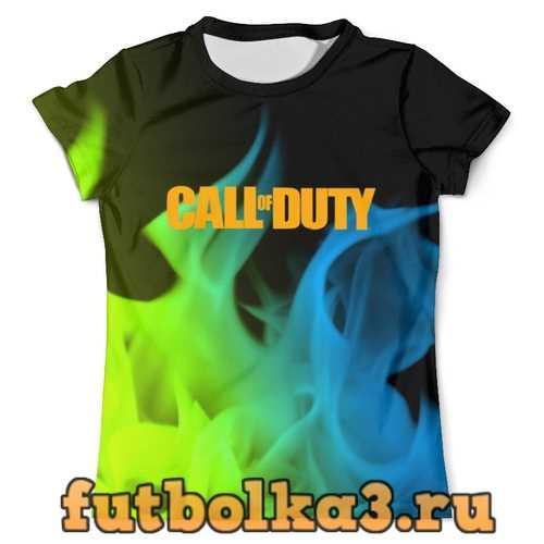 Футболка Call of Duty мужская