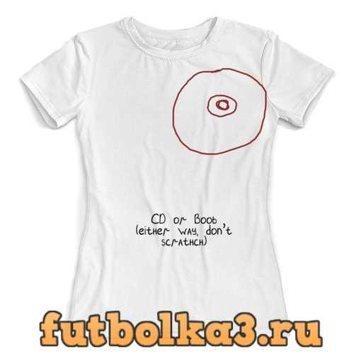 Футболка CD или титя женская
