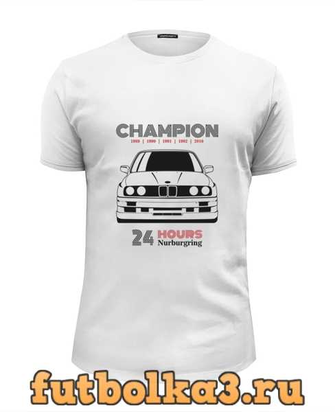 Футболка Champion M3 E30 мужская
