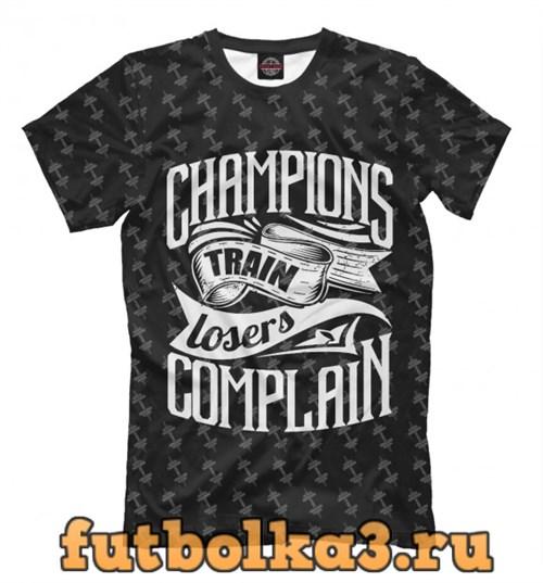 Футболка Champions Train мужская