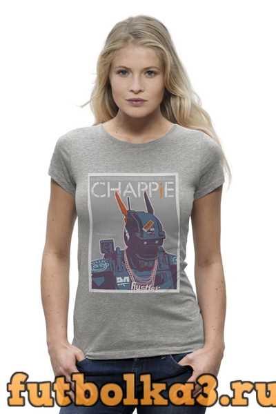 Футболка Chappie / Робот Чаппи женская
