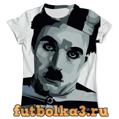 Футболка Чарли Чаплин мужская