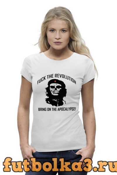 Футболка Che Guevara Skull женская