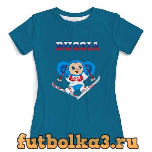 Футболка Чебурашка женская