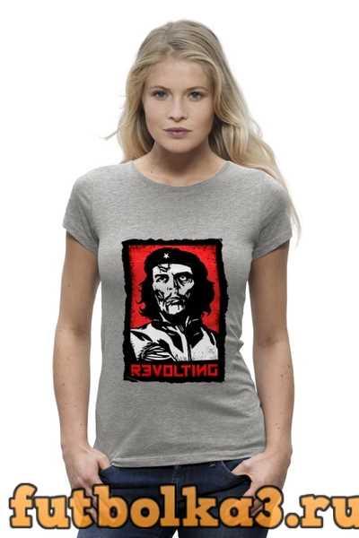 Футболка Chegevara Zombie женская