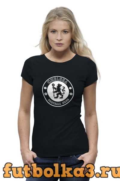 Футболка Chelsea FC (white) женская
