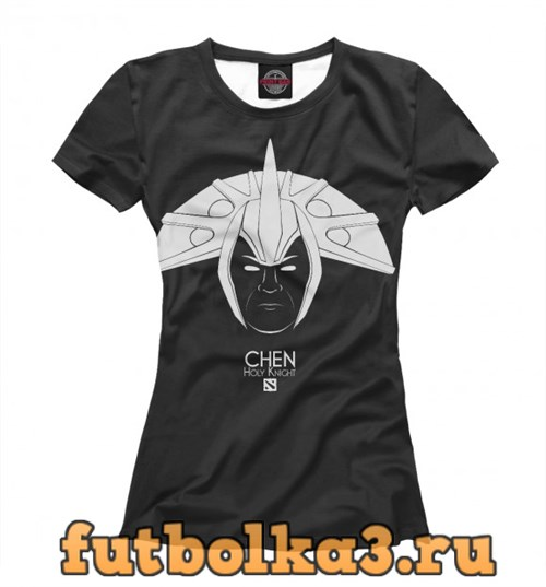 Футболка Chen Holy knight женская