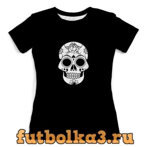 Футболка Череп женская