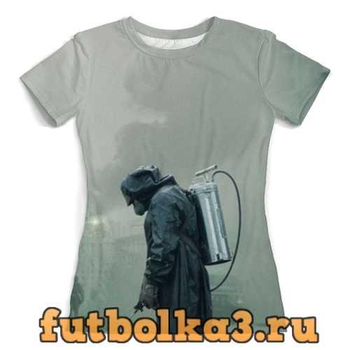 Футболка Чернобыль женская