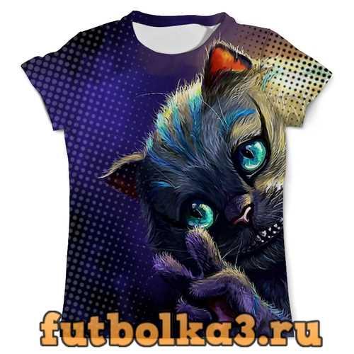 Футболка Cheshire Cat Design мужская