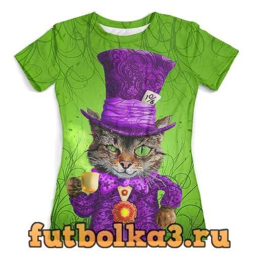 Футболка Cheshire Cat женская