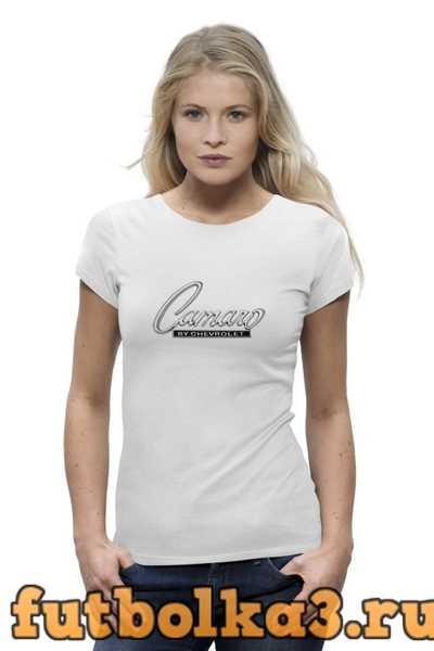 Футболка Chevrolet Camaro. женская