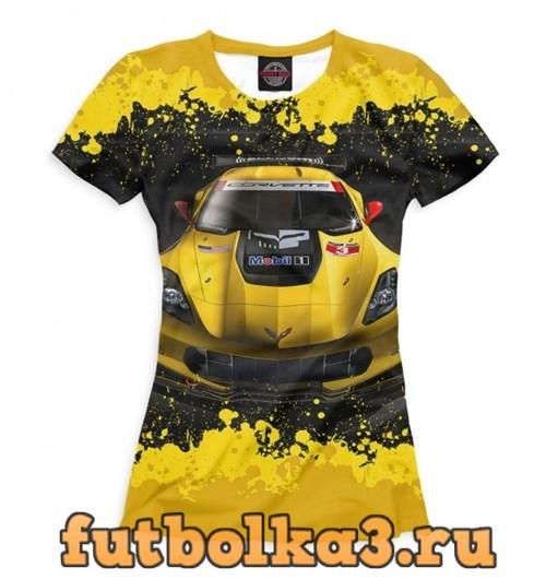Футболка Chevrolet Corvette женская