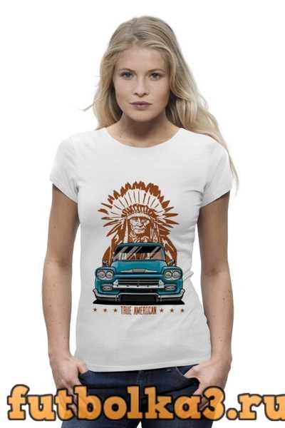 Футболка Chevy Apache Pickup Truck женская