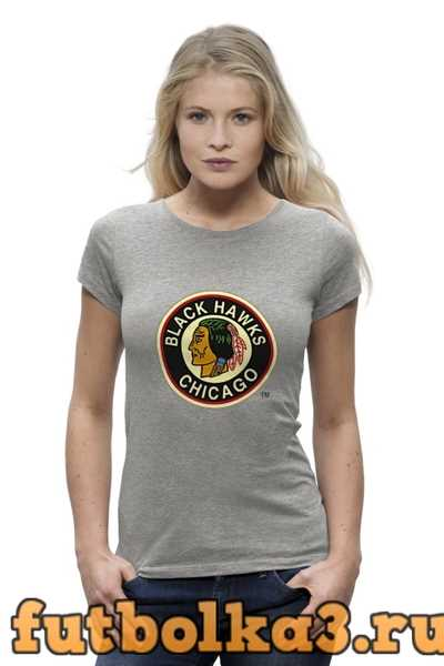 Футболка Chicago Black Hawks / NHL USA женская