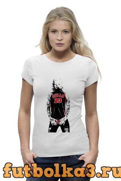 Футболка Chicago Bulls Marilyn Monroe женская
