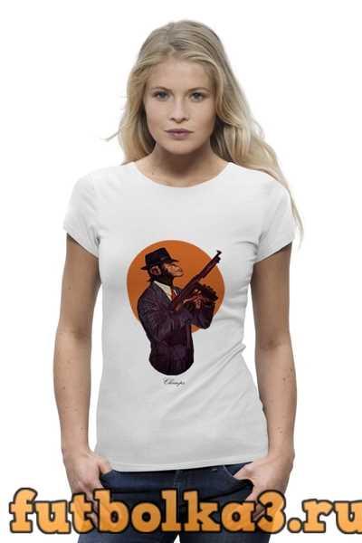 Футболка Chimps - Шимпанзе. Символ 2016 женская