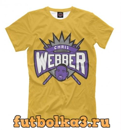 Футболка Chris Webber мужская