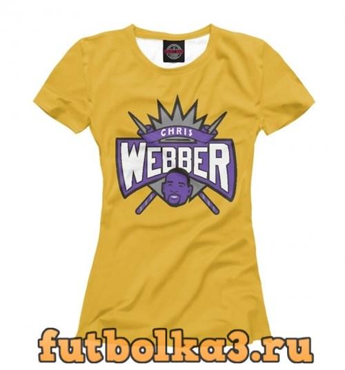 Футболка Chris Webber женская