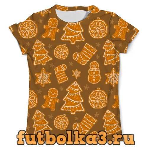 Футболка Christmas dessert мужская
