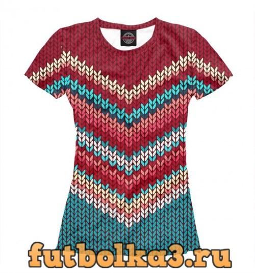 Футболка Christmas sweater женская