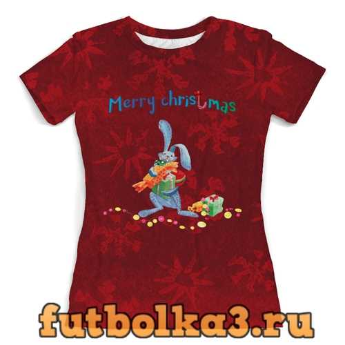 Футболка Christmas женская