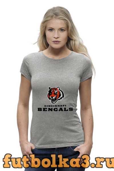 Футболка Cincinnati Bengals женская