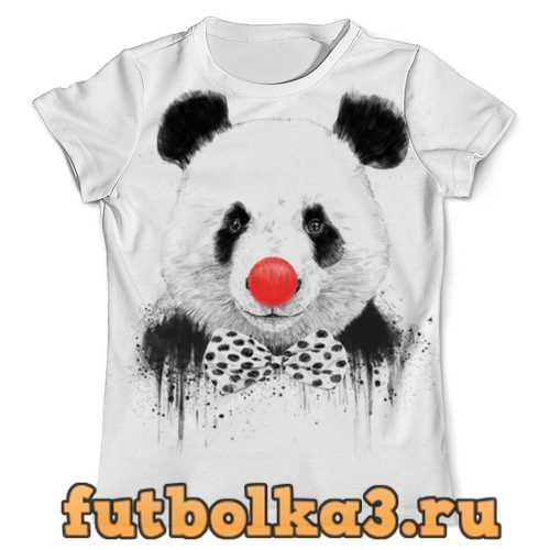 Футболка Circus panda 3D мужская