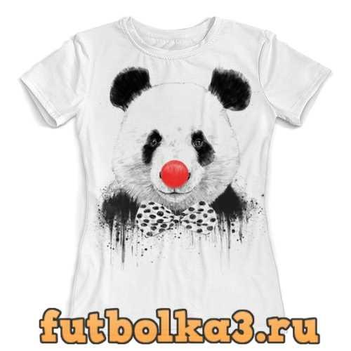 Футболка Circus panda 3D женская