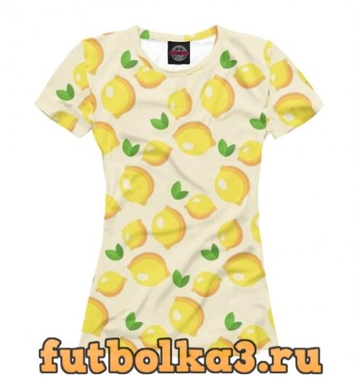 Футболка Citrus женская