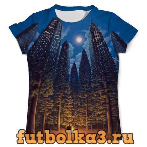 Футболка City Forest (двусторонняя) мужская