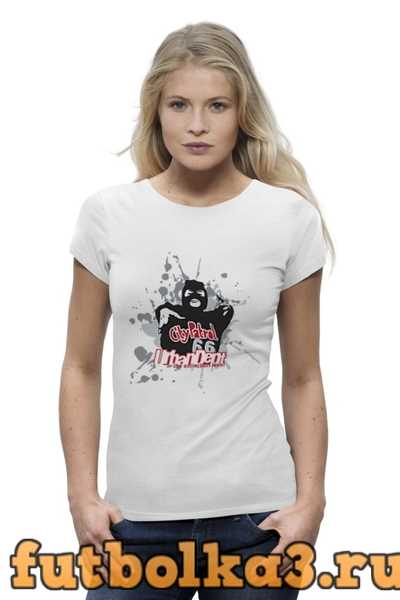 Футболка City Patrol женская