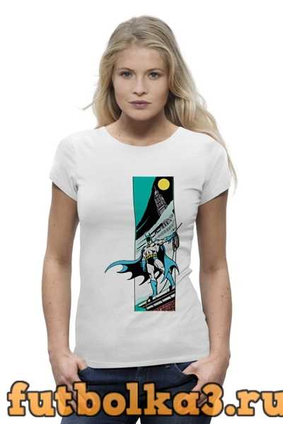 Футболка CitySwag Batman женская