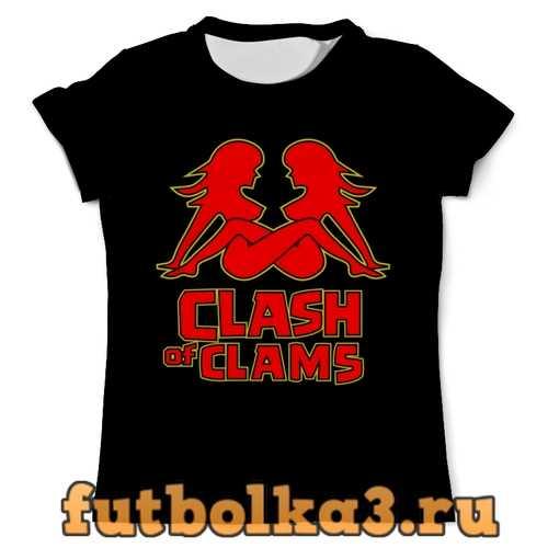 Футболка Clash of clams мужская