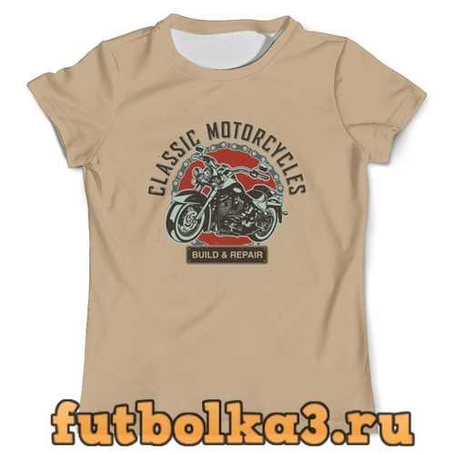 Футболка Classic motorcycles мужская