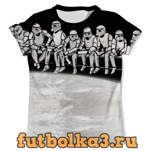 Футболка Clone Troopers Construction (Star Wars) мужская