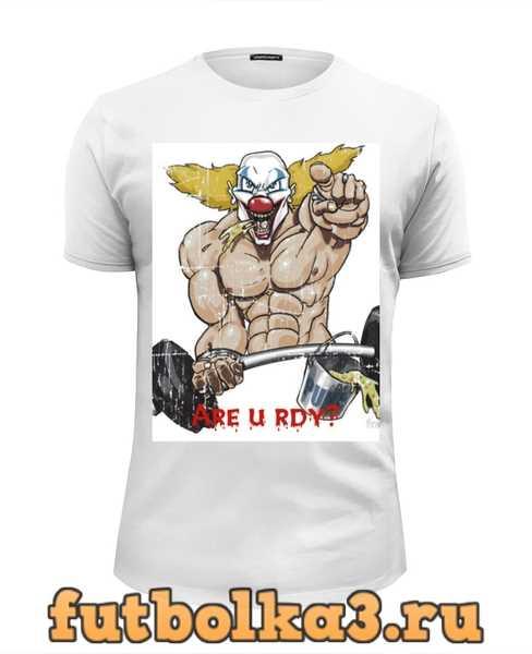 Футболка Clown the Pukie мужская