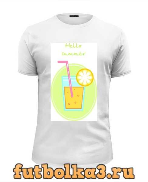 Футболка Cocktail summer мужская