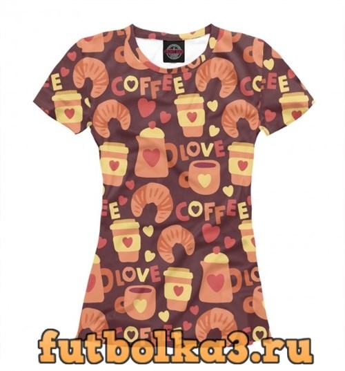 Футболка Coffee женская