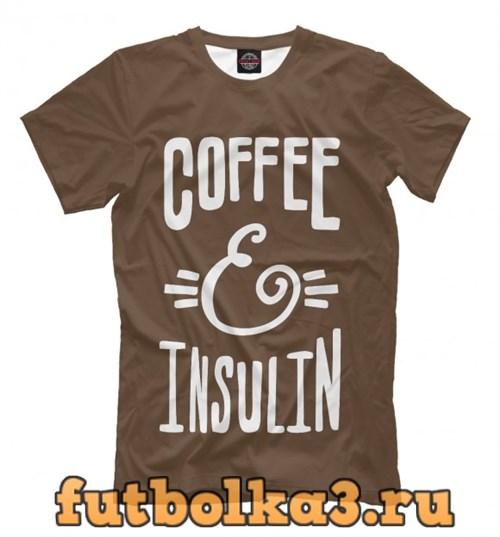 Футболка Coffee And Insulin мужская