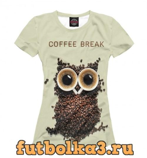 Футболка COFFEE BREAK женская