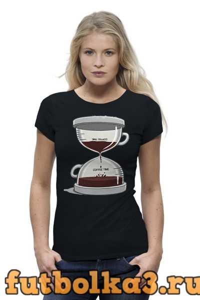 Футболка COFFEE TIME / Время Кофе женская