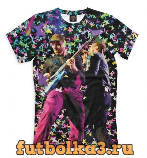 Футболка Coldplay мужская