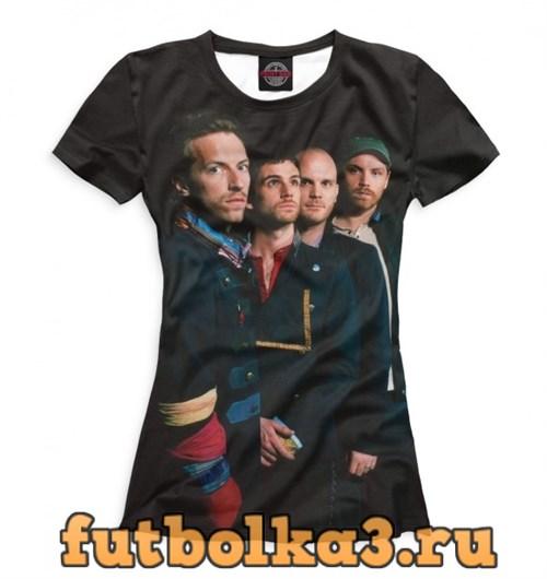 Футболка Coldplay женская