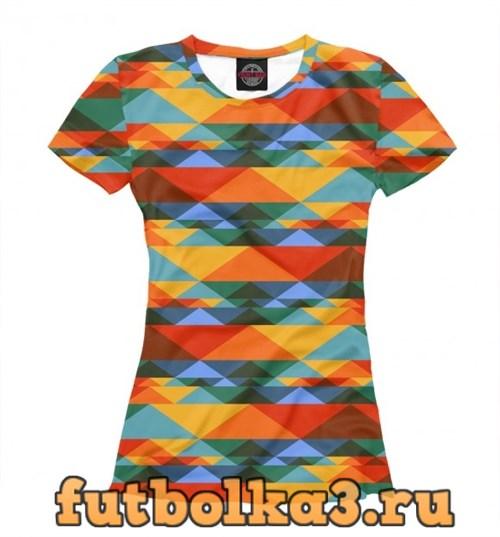 Футболка color bands женская